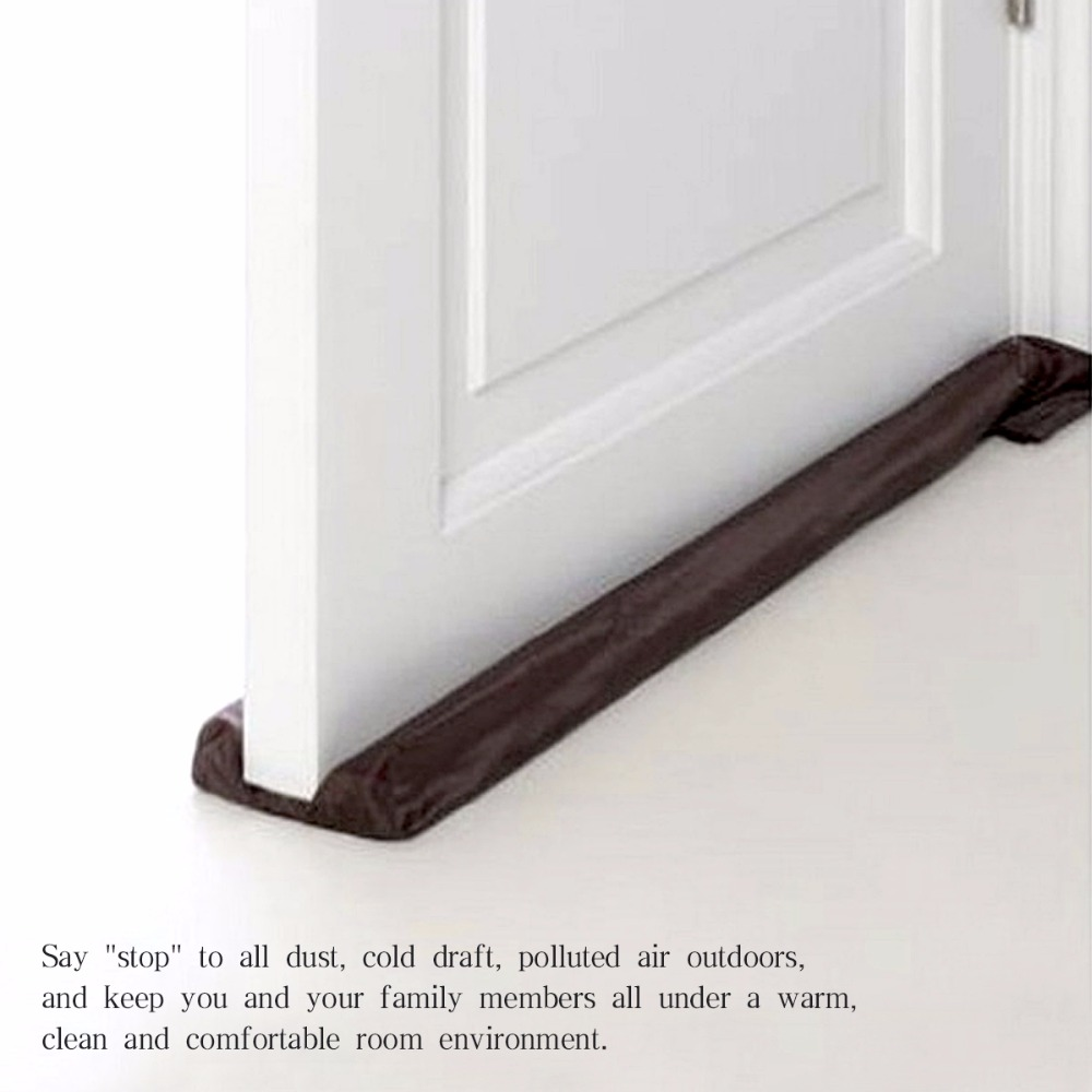 Guard Wind Dust Blocker Sealer Stopper Insulator Door Window Brown Interior Or Exterior Doors And Windows Protecter Door Stops(China)