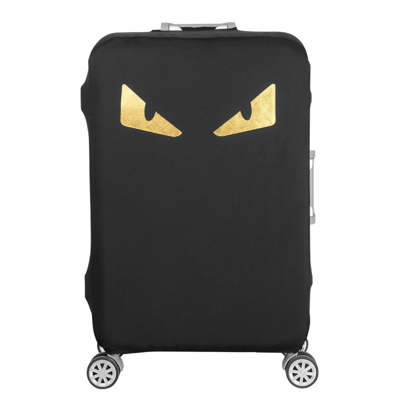 2019 Cartoon Luggage Cover Protector Trolley Suitcase Covers Elastic Polyester Spandex Protection Case Travel Luggage Cover