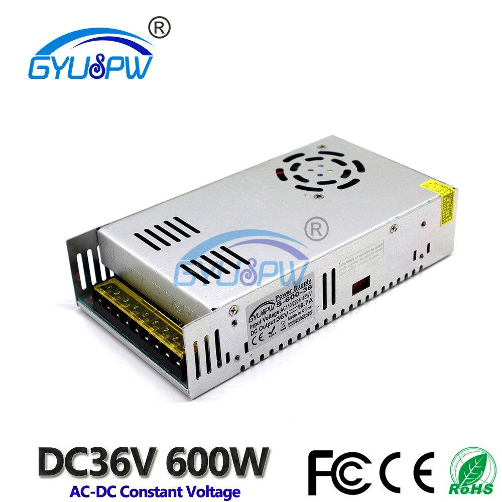 36V600W