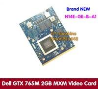 N14E-GE-B-A1 새로운 원래 GTX 765 메터 GTX765M 2 기가바이트 비디오 카드 델 에일리언웨어 M15X는 M17X M18X 노트북/노트북 그래픽 카드