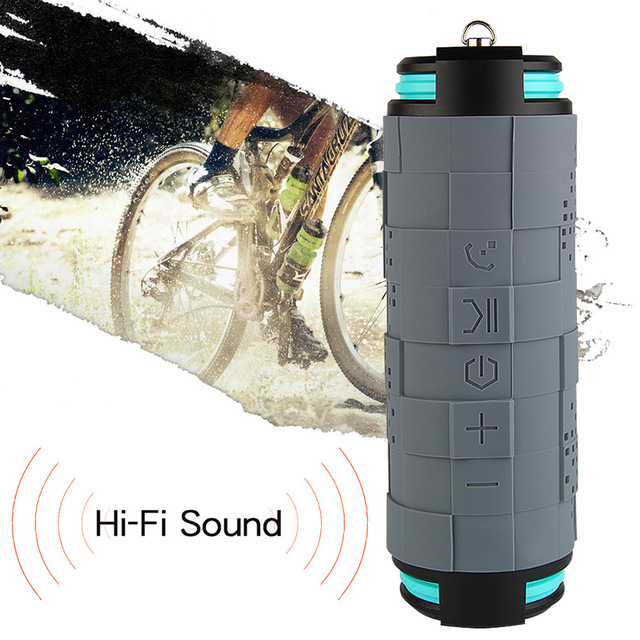 10W 5200mAh Waterproof Outdoor Wireless Speaker Bluetooth Portable Bike Speaker Column Box Loudspeaker Speakers Big Power