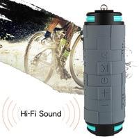 10W 5200mAh Waterproof Outdoor Wireless Speaker Bluetooth Portable Bike Speaker Column Box Loudspeaker Speakers Big Power