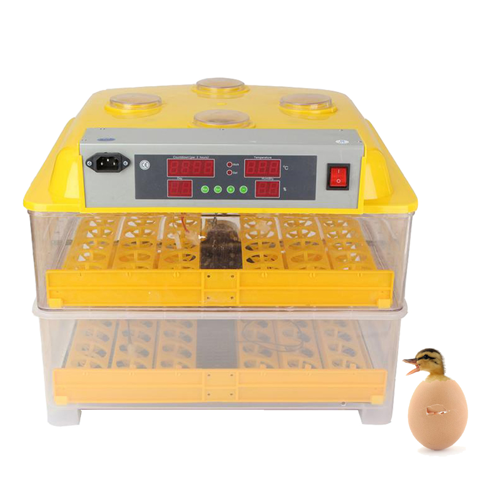 Automatic Turning Egg Hatchery Machine For Chicken Duck Quail Parrot Electric Farm Egg Incubator For Egg Hatching