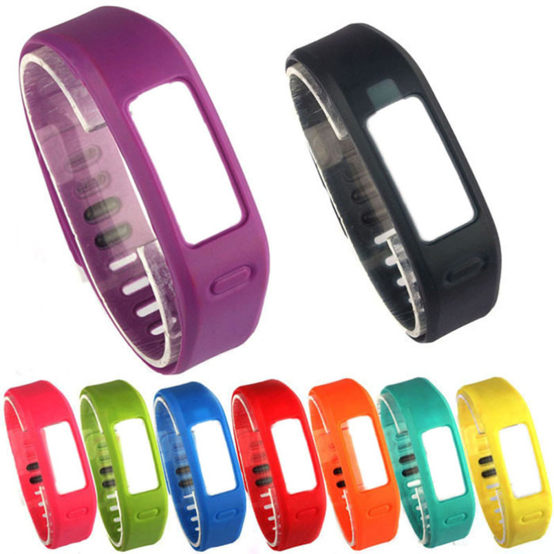 New Arrive10PC Replacement Band Smart Wristband Strap Bracelet With Clasps For Garmin Vivofit Bracelet Sport Band Jan 20 garmin vivofit 2 hrm