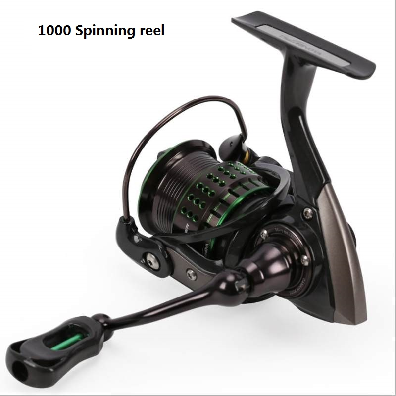 TSURINOYA kingfisher 800/1000 moulinet 162g Ultra léger ultra long tir pour petit appât 5.2: 1 10 + 1 glisser 4kgs moulinet de pêche - 5