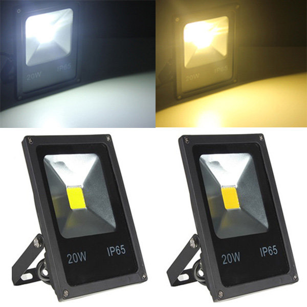 Free Shipping Outdoor LED Floodlight Waterproof 30W Warm White/White/Bule/Greeen/Red Floodlighting