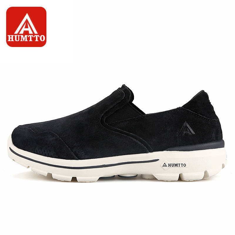 New Men Women Running Shoes Leather Slip-On Breathable Comfortable Light Anti-skid Sneaker Outdoor Athletic Sport Shoes kelme 2016 new children sport running shoes football boots synthetic leather broken nail kids skid wearable shoes breathable 49