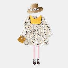 Mother Kids - Childrens Clothing - Godier Princess Baby Girls Dress New Spring Summer Cotton Girl Clothes Yellow Long Sleeve Children Summer Beach Dress Vestidos