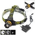 Zoomable Bike Light High Power 2300 Lumens XM-L T6 LED Headlamp Bicicleta Flashlight Torch with Charger For Cycling Hiking