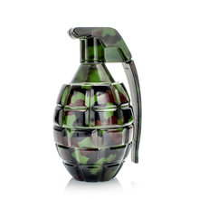 Grenade shape metal weed herb smoking grinders tobacco cigarette Crusher hand muller  shredder for hookah shisha