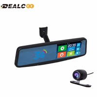 Dealcoo 3G Car Camera DVR GPS Bluetooth Dual Lens Rearview Mirror Video Recorder FHD 1080P Automobile DVR Mirror Dash cam JC600
