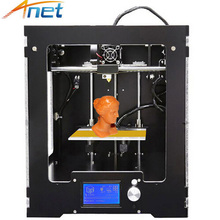 Assembled 3D Printing Machine High Precision Reprap Prusa i3 Anet A3S Metal 3D Printer Aluminum Frame for Plastic Printings anet a3 full assembled high precision 3d printer aluminum arcylic frame 3d printer kit industry three dimensional diy printing