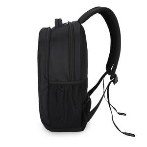 Image 4 - حقيبة ظهر بعلامة تجارية للرجال عالية الجودة 15.6 بوصة حقيبة ظهر للكمبيوتر المحمول للنساء حقيبة ظهر خفيفة من النايلون حقيبة مدرسية للفتيات والصبيان