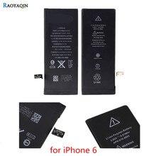 1 шт. 100% замена высокое качество литий-ионный аккумулятор для apple iphone 6 6 г батареи сотового телефона для iphone 6g с машиной инструменты