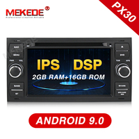 MEKEDE 2 Din Auto Radio Android 9 Car Multimedia Video Player For Ford/Mondeo/Focus/Transit/C MAX/S MAX/Fiesta GPS DVD DVR