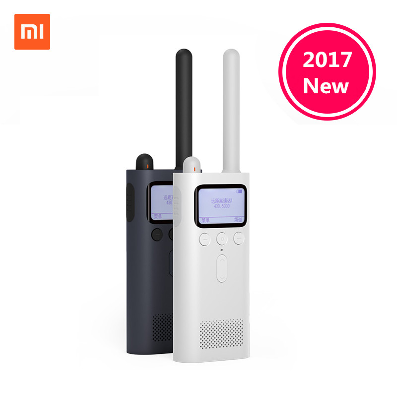In Stock Original Xiaomi Mijia Smart Walkie Talkie With FM Radio Speaker Standby Smart Phone APP