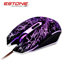 New E X5 2400DPI LED Optical 6Buttons USB Wired game Gaming Mouse gamer For PC computer Laptop