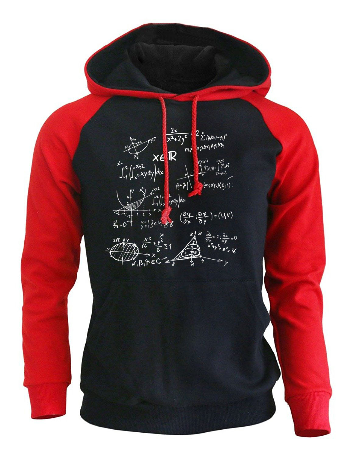 Hoodies For Men 2018 Autumn Winter Mathematical Formula The Big Bang Theory Fashion Mens Sweatshirt Brand Fitness Tracksuit New