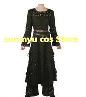 Free Shipping!Rock Band Hide Matsumoto Hideto Hideto black dress Cosplay Costume,Custom Size Halloween Wholesale