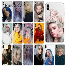 Ruicaica Billie Eilish Khalid Custom Photo Soft Phone Case for Apple iPhone 8 7 6 6S Plus X XS MAX 5 5S SE XR Cellphones цена