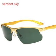 2017 Uv400 Aluminum Alloy night driving driver Sunglasses Sunglasses Goggles Sunglasses  women polarized light