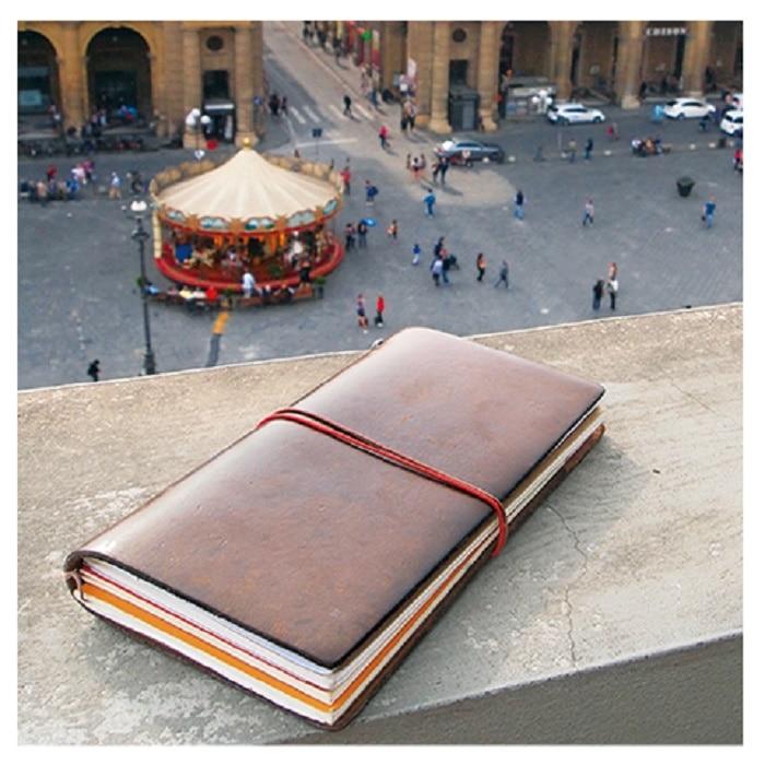 (ميدوري) أحبها المسافرون المسافر دفتر يوميات من الجلد جوازات السفر العادية النسخة اليومية إدراج الصفحة الداخلية ملصقا-في أقلام حبر من لوازم المكتب واللوازم المدرسية على  مجموعة 3