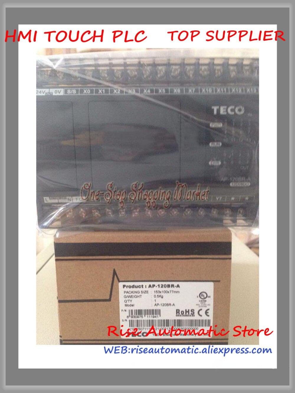 AP-120BR-A PLC 100-240VAC NPN/PNP 16 point Relay 14 point AP New OriginalAP-120BR-A PLC 100-240VAC NPN/PNP 16 point Relay 14 point AP New Original