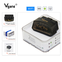 Vgate iCar Pro elm327 WIFI OBD2 Scanner Auto Diagnose Werkzeug ULME 327 diagnose adapter scan-tool wifi unterstützung OBD 2 II Protokoll