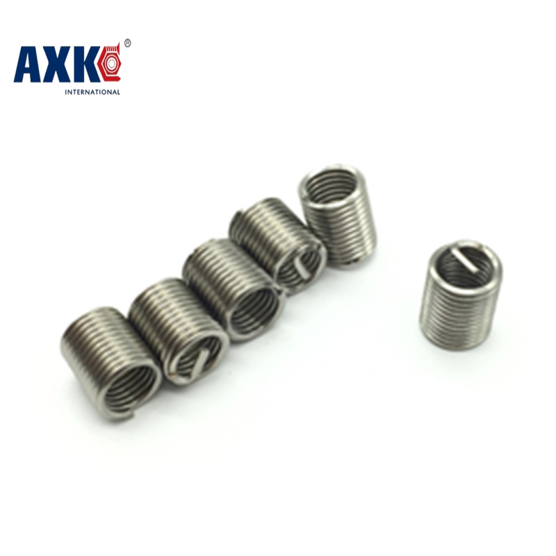 100pcs M8*1.25  1.5D insert length helicoil Stainless Steel Screw Thread repair