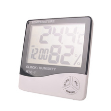 Indoor and outdoor electronic temperature hygrometer, LCD temperature hygrometer, a zoo hygrometer, free shipping