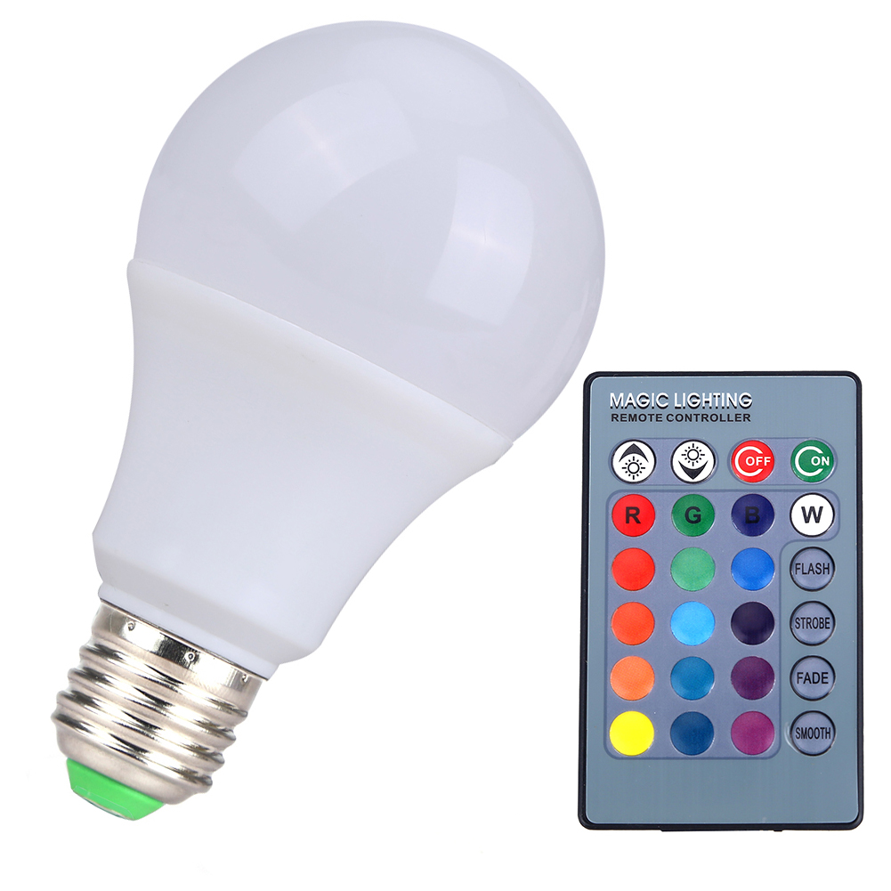 Aliexpress com   Buy 3W RGB LED Lamp E27 LED RGB Bulb Lampada AC85 265V SMD5050 16 Colors Change     -> Lampada Led Rgb
