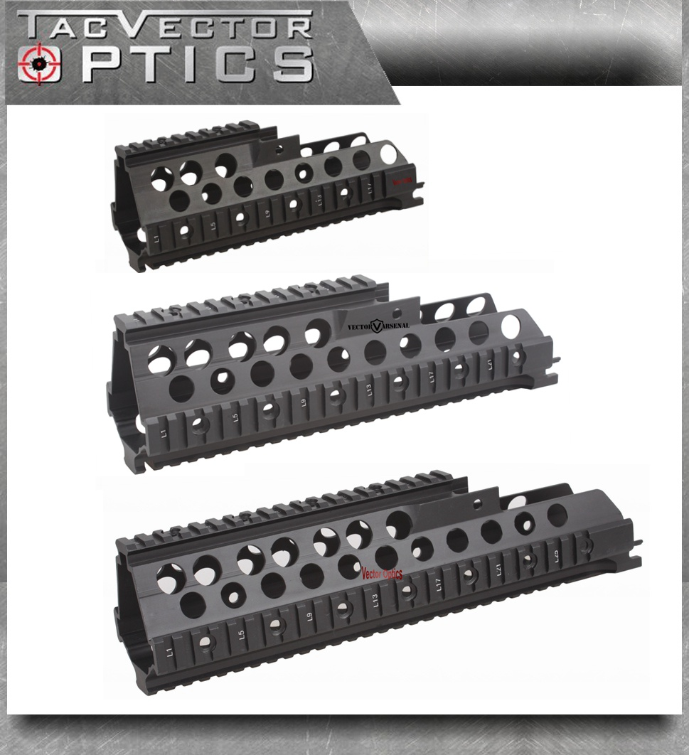 Vector Optics font b Tactical b font H K G36 G36C G36K Handguard Quad Picatinny Rail
