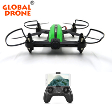 Global Drone Wifi FPV Quadcopter Mini RC Racing Drone 6 axis 2.4GHz 4 Channels RC Helicopter With 720P HD Wide Angle Camera RTF