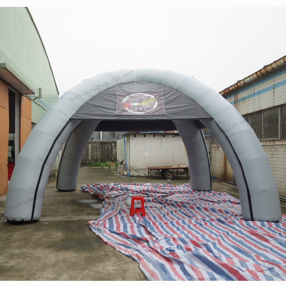 8m dia 4 legs full PVC inflatable spider tent outdoor inflatable exhibition advertising cover promotion display marquee tent