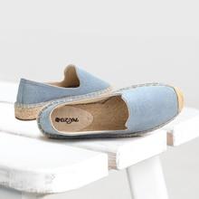 47a779073 women 2019 Cavans flat platform espadrilles Lady casual rubber outsole shoes  Women Off-duty days