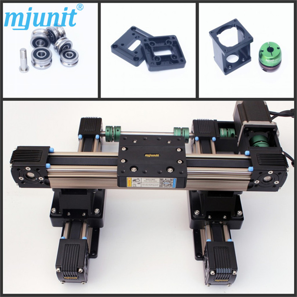 motorized stage,Stepper Motor, Belt driven linear slide Precision Linear Stages,Application for Labs belt driven linear slide rail belt drive guideway professional manufacturer of actuator system axis positioning