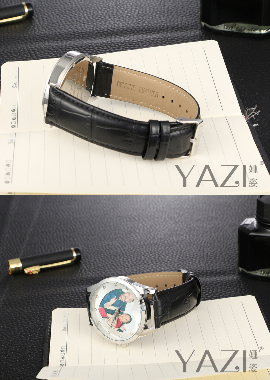 Yazi marca seu próprio relógio de foto