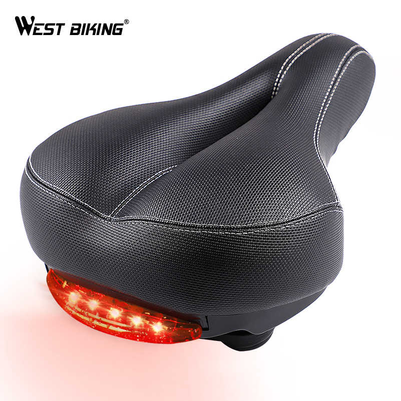 Thicken Cycling Bicycle Saddle Road Bike MTB Seat Thicken Seat Hollow Cushion