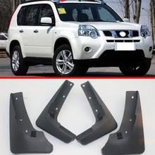 Набор литых автомобильных брызговиков для Nissan X-Trail T31 2008 2009 2010 2011 2012 2013 Xtrail Брызговики крыло брызговиков