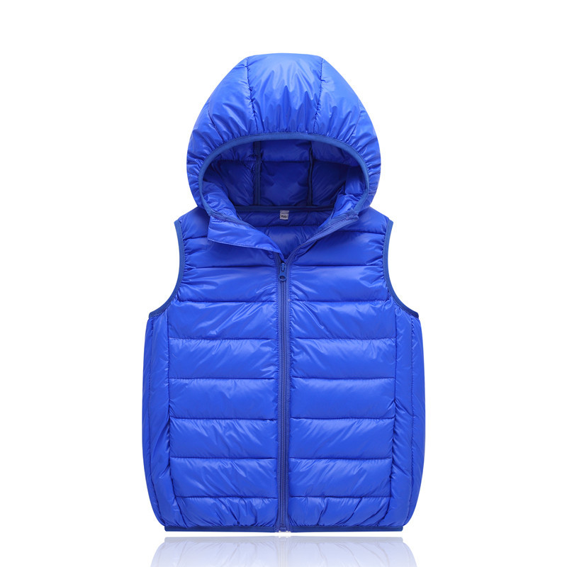 129e84fd5773 children vest Autumn Winter Outerwear Coats Girls Vest Hooded Candy ...