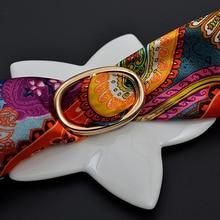 H handmade custom designed Shawl Ring clip Scarf Fastener silk scarf buckle ring  female fashion gift