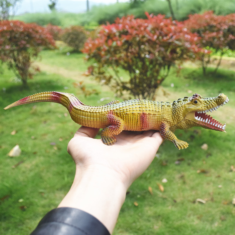 Realistic Plastic Crocodile Tricky Toy Fake Snakes Garden Props Joke Prank In Gags Practical Jokes From Toys Hobbies On Aliexpress