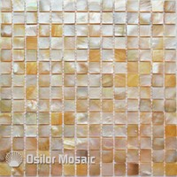 100% natural sea shell yellowlip mother of pearl mosaic tile for bathroom decoration wall tile 1pcs