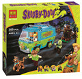 Bela 10430 Scooby Doo Mistério Ônibus Máquina de Bloco De Construção de Mini Brinquedos com P029 lepin 75902 presente de Natal