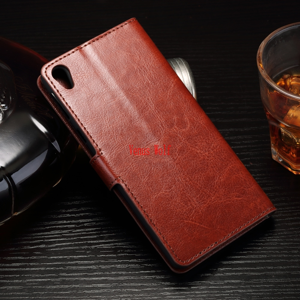 Phone Case for <font><b>Sony</b></font> Xperia Z5 Z 5 Dual E 6603 6633 6653 6683 Flip Phone Leather Cover for <font><b>SONY</b></font> Z5 E6603 <font><b>E6633</b></font> E6653 E6683 Bags image