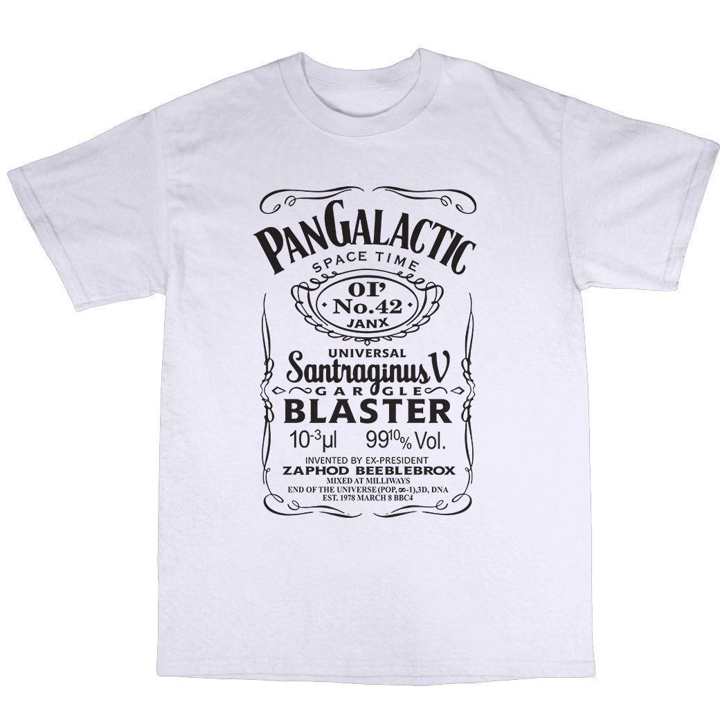 Pan Galactic Gargle Blaster T-Shirt 100% Premium Cotton Douglas Adams 2017 Brand T Shirt Men Fashion Cotton Men Short Sleeve