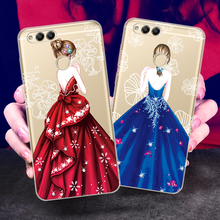 Beatuy Girl Case For Huawei Honor 7X Case For Huawei Honor 7C Cover For Honor 7A Case Pro Y6 Y7 Prime 2018 Enjoy 8 E Nova 2 Lite