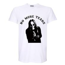 Фотография no more tears black metal rock star digital print breathable soft cotton t shirt