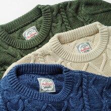Read Description ! Asian size long-sleeve jumper  mans 100% cotton autumn winter classic jumper