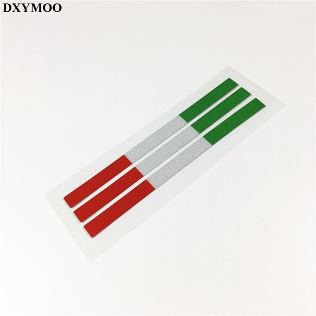 Us 1182 15 Off5 Lose Italien Flagge Auto Aufkleber Reflektierende Aufkleber Nationalflagge Jdm Motorrad Helm Stoßstangen Für Vespa Piaggio In 5